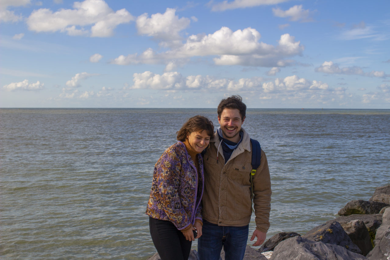 Couple in Ostend